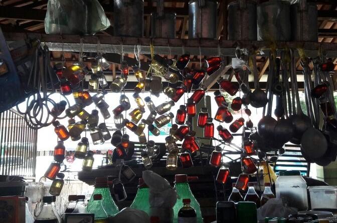 Imagens do mercado de Araguaína.