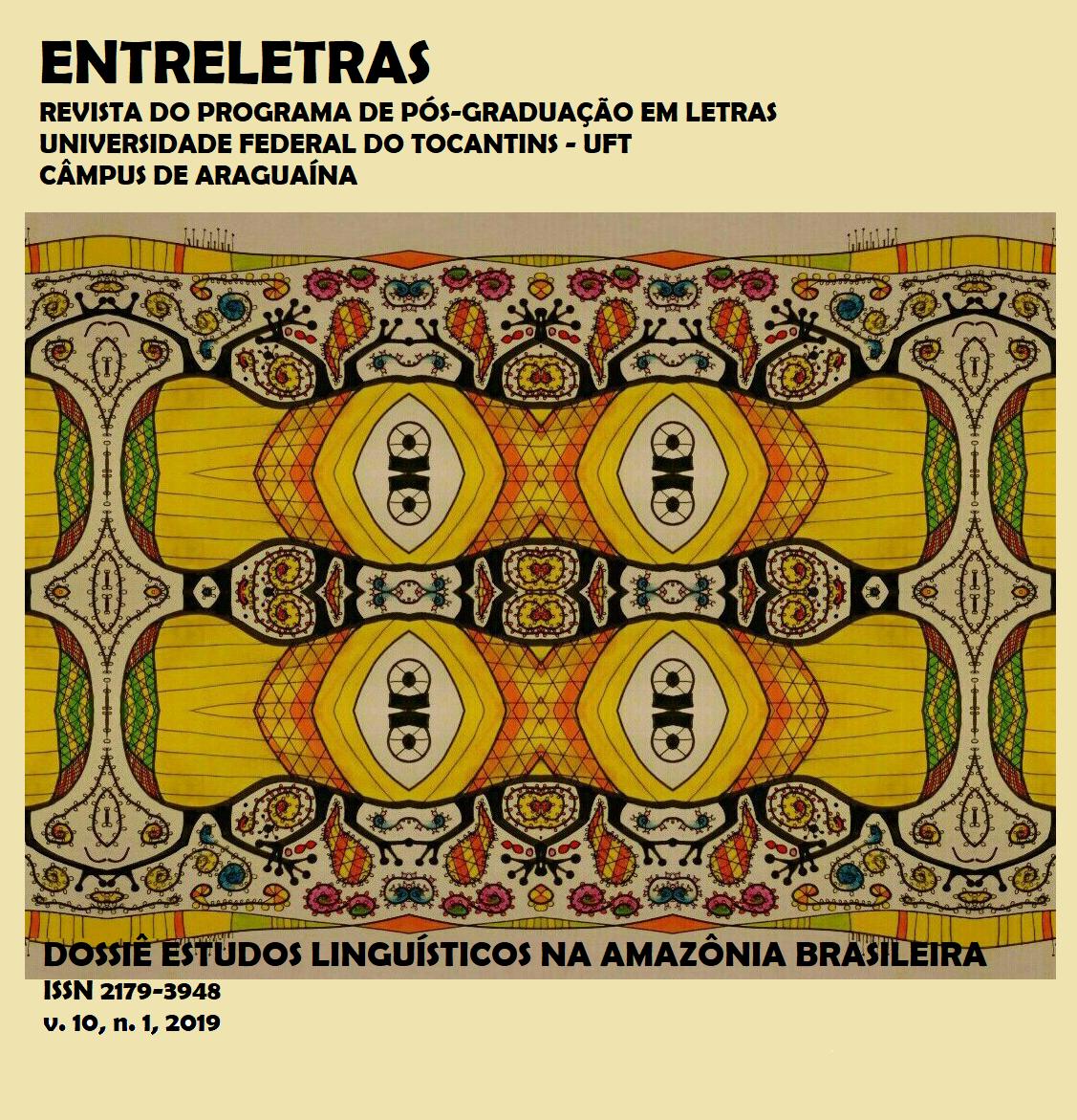 Dossiê Estudos Linguísticos na Amazônia Brasileira. Ilustração de Luiz Roberto Peel Furtado de Oliveira