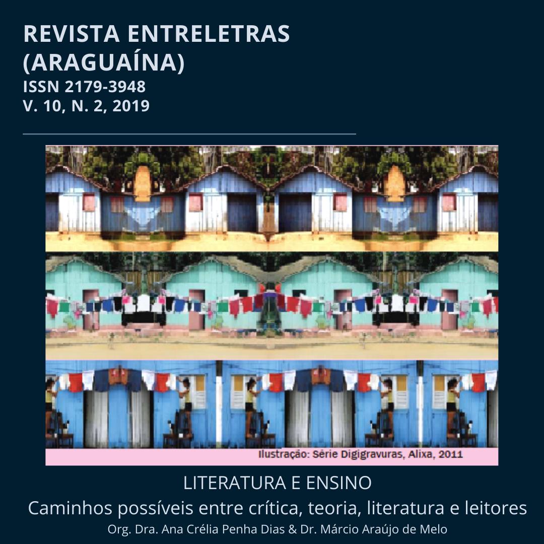 Capa da edição v. 10, n. 2, 2019, com 3 digigravuras de Alixa, 2011